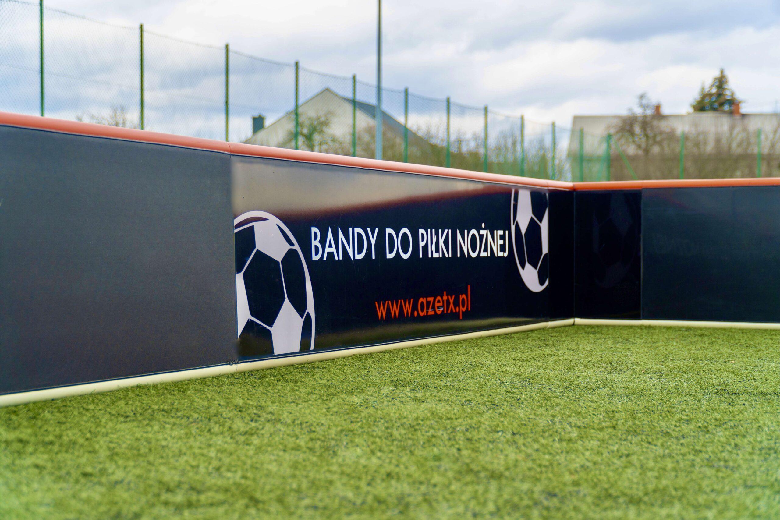 Narożnik bandy od wew z naklejką - Azetx Football50