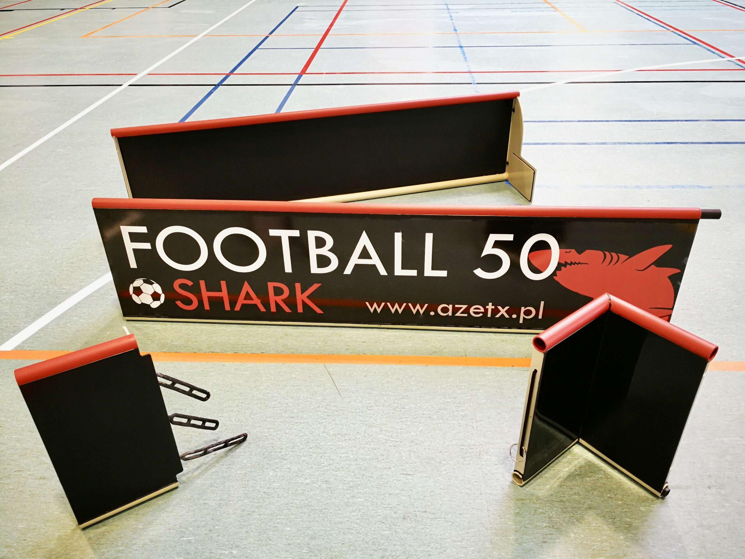 Zestaw elementów Bandy Azetx Football 50 SHARK_1